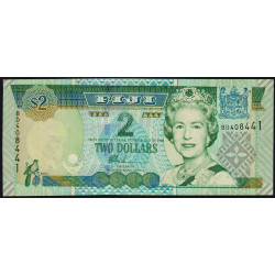 Fidji - Pick 104 - 2 dollars - 2002 - Etat : NEUF