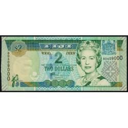 Fidji - Pick 104 - 2 dollars - 2002 - Etat : pr.NEUF