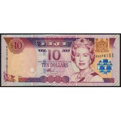 Fidji - Pick 106 - 10 dollars - 2002 - Etat : NEUF