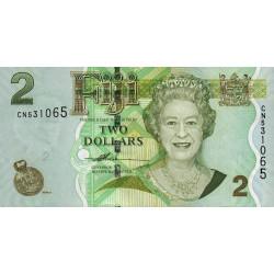 Fidji - Pick 109a - 2 dollars - 2007 - Etat : NEUF