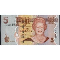Fiji - Pick 110a - 5 dollars - 2007 - Etat : NEUF