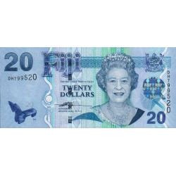 Fidji - Pick 112 - 20 dollars - 2007 - Etat : NEUF