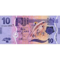 Fiji - Pick 116 - 10 dollars - 2013 - Etat : NEUF