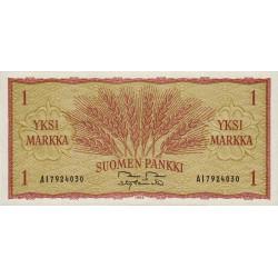 Finlande - Pick 98_28 - 1 markka - 1963 - Etat : NEUF