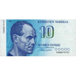 Finlande - Pick 113_15 - 10 markkaa - 1986 - Etat : SPL