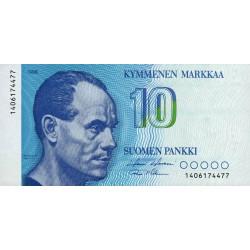 Finlande - Pick 113_22 - 10 markkaa - 1986 - Etat : NEUF