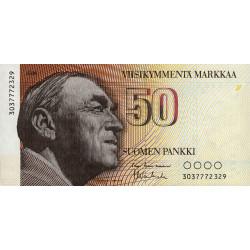 Finlande - Pick 114_30 - 50 markkaa - 1986 - Etat : NEUF