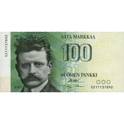 Finlande - Pick 115_34 - 100 markkaa - 1986 - Etat : NEUF