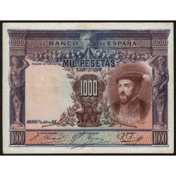 Espagne - Pick 70c - 1'000 pesetas - 1936 - Sans série - Etat : TB+