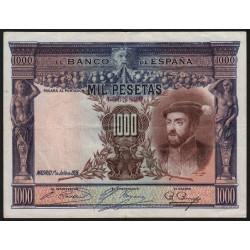 Espagne - Pick 70c - 1'000 pesetas - 1936 - Sans série - Etat : TTB