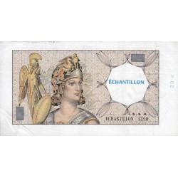 Athena à gauche - Format 200 francs MONTESQUIEU - DIS-03-F-03 variété 3 - Etat : TTB