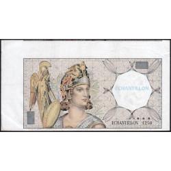 Athena à gauche - Format 200 francs MONTESQUIEU - DIS-03-F-03 variété 2 - Etat : TTB