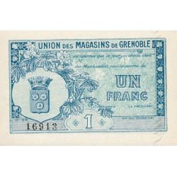 38 - Grenoble - Union des Magasins - 1 franc - 1950 - Etat : NEUF