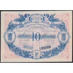 38 - Grenoble - Union des Magasins - 10 francs - 1950 - Etat : SUP
