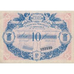 38 - Grenoble - Union des Magasins - 10 francs - 1950 - Etat : pr.NEUF