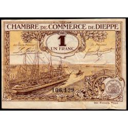 Dieppe - Pirot 52-16 - 1 franc - 1920 - Etat : TB