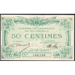 Dunkerque - Pirot 54-1 - 50 centimes - Etat : SUP+