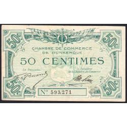 Dunkerque - Pirot 54-01 - 50 centimes - Etat : TTB