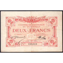 Dunkerque - Pirot 54-9 - 2 francs - Etat : TTB-