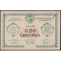 Elbeuf - Pirot 55-4 - 50 centimes - Sans date  - Etat : TB+