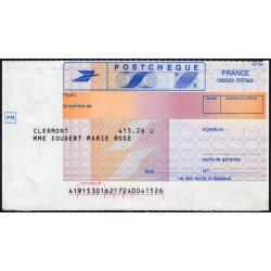 Postchèque - 1984 - Etat : SPL