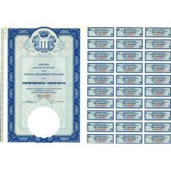 Imprimerie Oberthur - 1980 - Spécimen - SUP