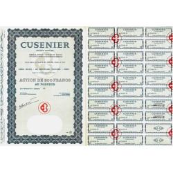 25 - Ornans - Cusenier - 200 francs - 1966 - Spécimen - SUP+