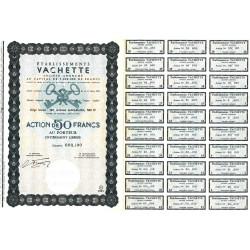 10 - Troyes - Etablissements Vachette - 50 francs - 1963 - Spécimen - SUP+