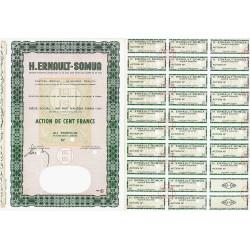 H. Ernault Somua - 100 francs - 1964 - Spécimen - SUP+