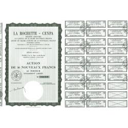 67 - Schweighouse-sur-Moder - La Rochette Cenpa - 50 NF - 1962 - Spécimen - SUP+