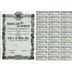 38 - Grenoble - Merlin & Gérin - 100 NF - 1962 - Spécimen - SUP+