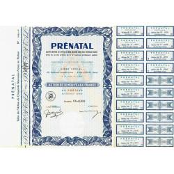 Prénatal - 50 NF - 1962 - Spécimen - SUP+