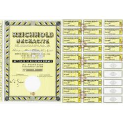 95 - Bezons - Reichhold Beckacite - 50 NF - 1962 - Spécimen - SUP+