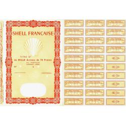 Shell Française - 70'000 francs - 1964 - Spécimen - SUP+