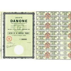 92 - Levallois-Perret - Société Danone - 50 NF - 1962 - Spécimen - SUP+