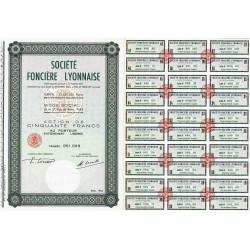 Soc. Foncière Lyonnaise - 50 francs - 1964 - Spécimen - SUP+