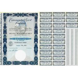 Transmondial Export Company - 100 NF - 1962 - Spécimen - SUP+