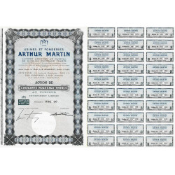 08 - Revin - Usines Fonderies Arthur Martin - 50 NF - 1962 - Spécimen - SUP+