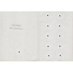 93 - La Courneuve - Imprimerie Desfossés - 1962 - Spécimen - SUP+