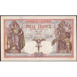 Algérie - Pick 83_1 - 1'000 francs - 1926 - Etat : TTB+