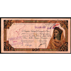 Maroc - Marrakech - 10'000 francs - 16/06/1958 - Etat : TTB+