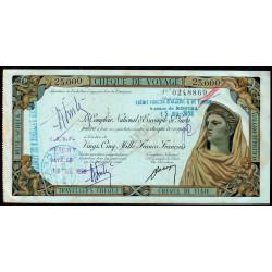 Algérie - Rouiba - 25'000 francs - 1958 - Etat : SUP