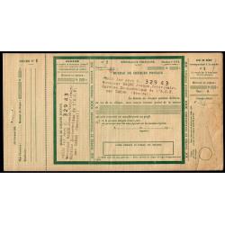 Sénégal - Chèque Postal - 1920 - Etat : TTB+
