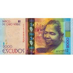 Cap-Vert - Pick 74 - 2'000 escudos - 05/07/2014 - Etat : NEUF