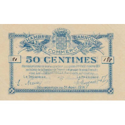 Annonay - Pirot 11-1 - 50 centimes - 1914 - Etat : SUP