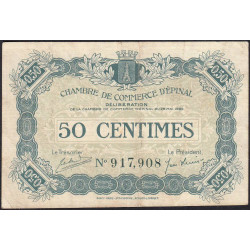 Epinal - Pirot 56-8 - 50 centimes - 1920 - Etat : TTB