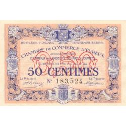Evreux (Eure) - Pirot 57-08 - 50 centimes - 1916 - Etat : NEUF