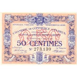 Evreux (Eure) - Pirot 57-10 - 50 centimes - 11/01/1917 - Etat : SUP