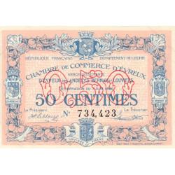 Evreux (Eure) - Pirot 57-16 - 50 centimes - 07/06/1920 - Etat : SUP+