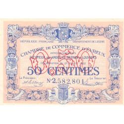 Evreux (Eure) - Pirot 57-25 - 50 centimes- Chiffre 2 - 27/07/1922 - Etat : SUP+